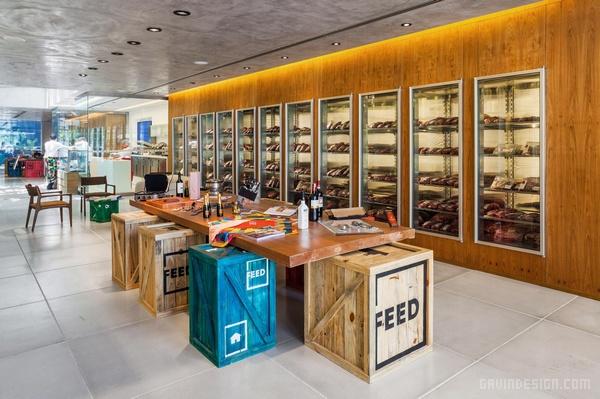 巴西圣保罗 FEED 旗舰店设计 旗舰店设计 店面设计 巴西 商业空间设计 专卖店设计