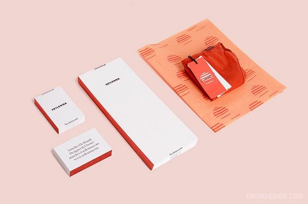 泳装品牌 seilenna 视觉形象VI设计 网站设计 标志设计 名片设计 包装设计 VI设计 APP设计