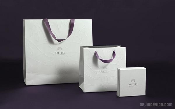 莱佛士酒店(Raffles Hotel)VI设计 网站设计 标志设计 名片设计 包装设计 VI设计 APP设计