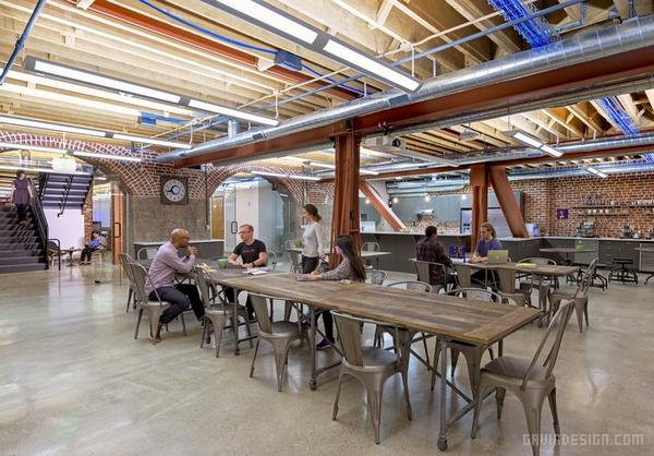 FIS 加利福尼亚旧金山办公室设计 美国 办公空间设计 办公室设计