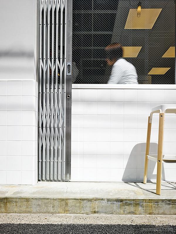 东京青山区 Cafe Coutume 咖啡店设计 日本 店面设计 商业空间设计 咖啡店设计