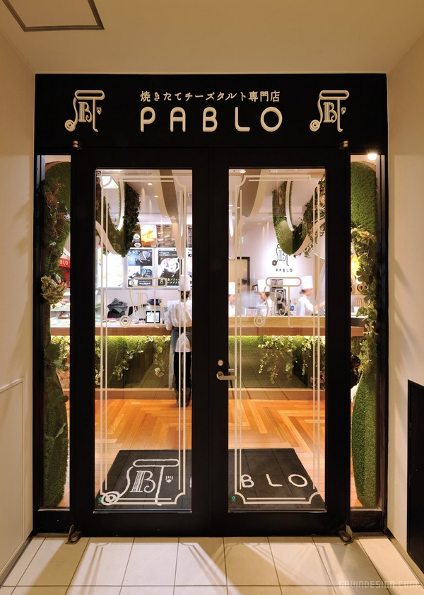 日本横滨 PABLO 起司蛋糕店设计 蛋糕店设计 甜品店设计 日本 店面设计 商业空间设计 专卖店设计