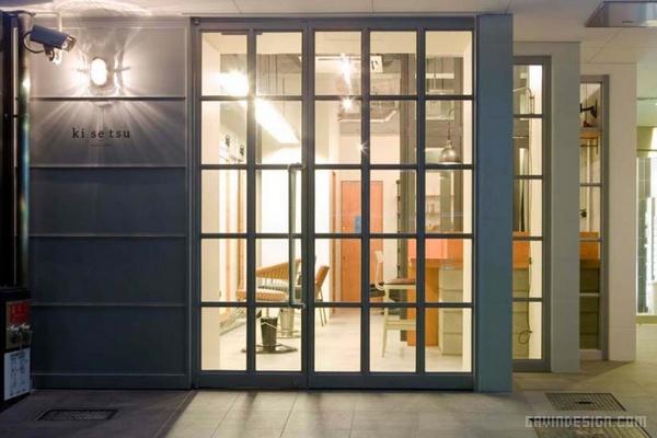 日本名古屋 Ki Se Tsu 美发沙龙设计 美发沙龙设计 日本 店面设计 商业空间设计 名片设计