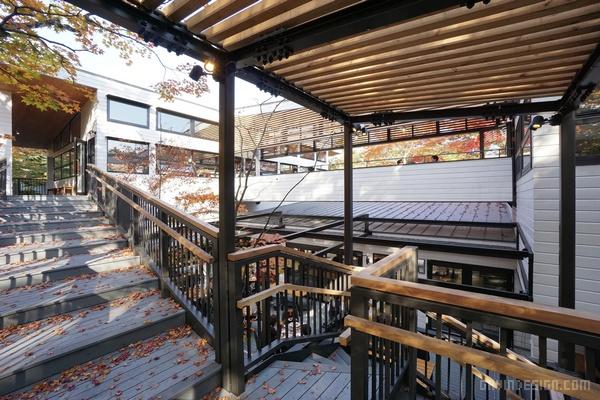 日本长野轻井泽 SAWAMURA 餐厅设计 餐厅设计 日本 店面设计 商业空间设计 东京