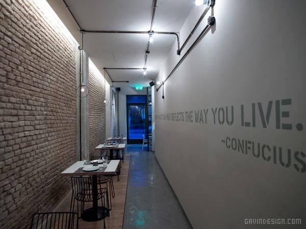希腊雅典 PROSOPA 餐厅设计 餐厅设计 店面设计 希腊 商业空间设计
