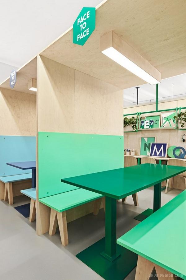 西班牙巴塞罗那 Academy Altimira 学校设计 西班牙 海报设计 教学楼设计 学校设计 品牌形象设计 办公室设计 VI设计