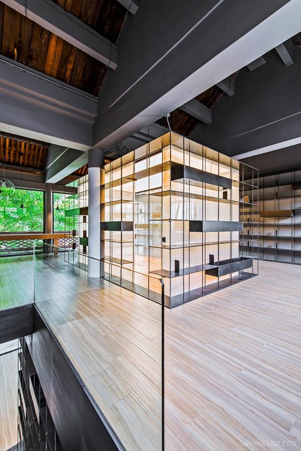 北京琉璃厂荣宝斋咖啡书店设计 店面设计 商业空间设计 北京 书店设计 中国