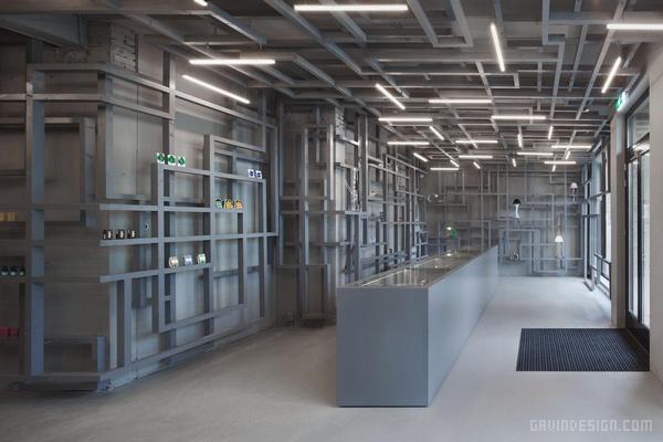 荷兰阿姆斯特丹 Smart 药店设计 荷兰 药店设计 店面设计 商业空间设计 专卖店设计