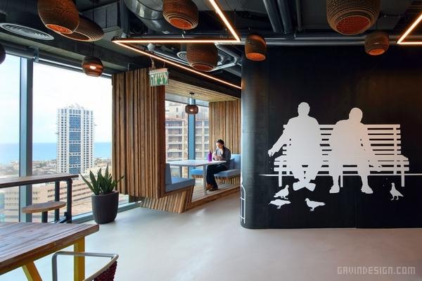 以色列特拉维夫 Autodesk 办公室设计 办公空间设计 办公室设计
