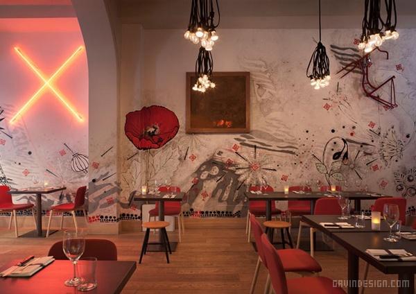 意大利米兰 Pisacco 餐厅酒吧设计 餐厅设计 酒吧设计 意大利 店面设计 咖啡厅设计