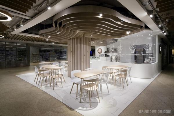 上海树概念蛋糕店设计 蛋糕店设计 甜品店设计 店面设计 商业空间设计 中国 上海