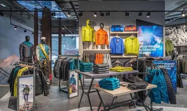 伦敦 The North Face 旗舰店设计 英国 旗舰店设计 店面设计 商业空间设计 专卖店设计