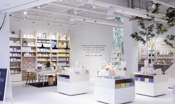 伦敦 kikki.K 文具店设计 英国 概念店设计 文具店设计 店面设计 商业空间设计 专卖店设计