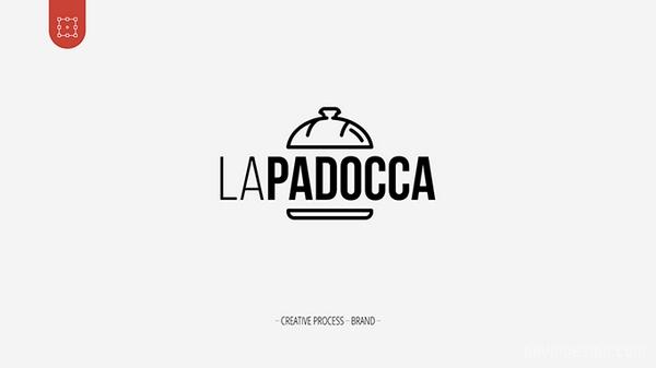 巴西 LaPadocca 面包店VI设计 面包店设计 标志设计 巴西 包装设计 VI设计 SI设计
