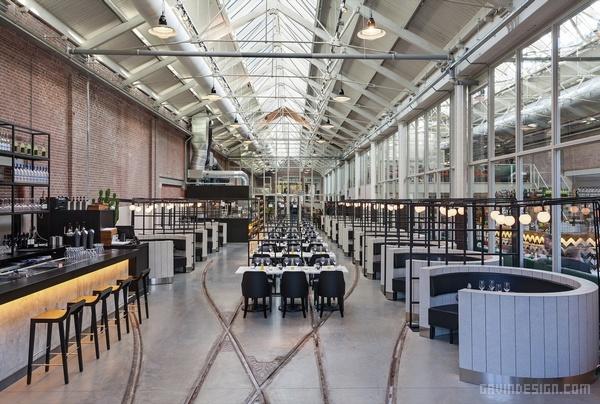 荷兰阿姆斯特丹 Meat West 餐厅设计 餐厅设计 荷兰 商业空间设计