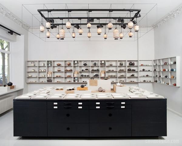 德国柏林 P & T 概念茶室设计 餐厅设计 茶室设计 德国 店面设计 商业空间设计
