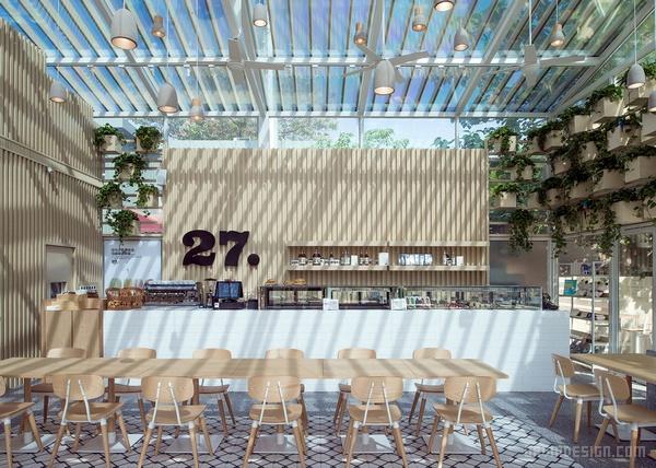 北京 Cafe 27清新文艺咖啡馆设计 餐厅设计 商业空间设计 咖啡馆设计 北京 中国
