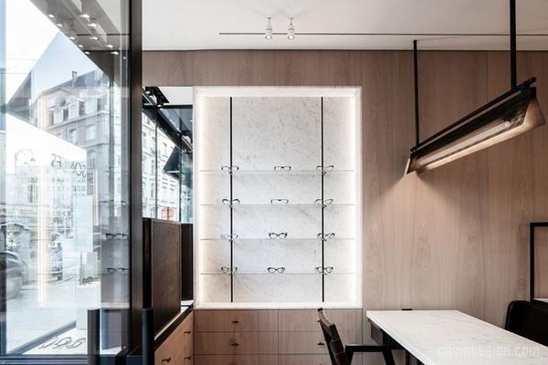 比利时布鲁塞尔 Lionel Sonkes 眼镜店设计 眼镜店设计 店面设计 商业空间设计 专卖店设计
