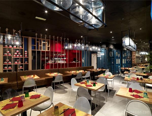 意大利 Pizzikotto 比萨餐厅设计 餐厅设计 意大利 店面设计 商业空间设计