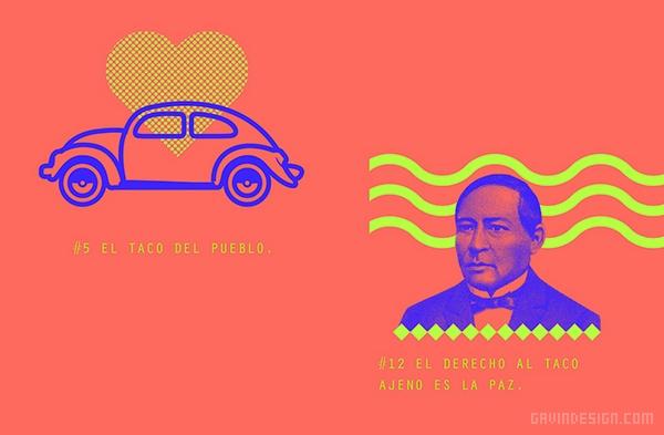 墨西哥 tacos 餐厅VI设计 餐厅设计 海报设计 标志设计 墨西哥 VI设计 SI设计