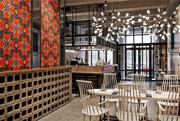 莫斯科 Holy Fox 餐厅设计 餐厅设计 店面设计 商业空间设计 俄罗斯