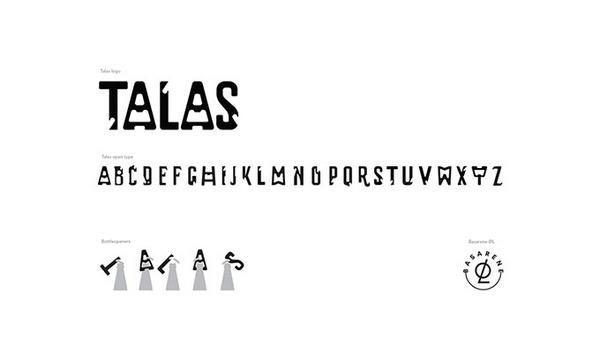 挪威 TALAS 啤酒VI设计 标识设计 包装设计 VI设计