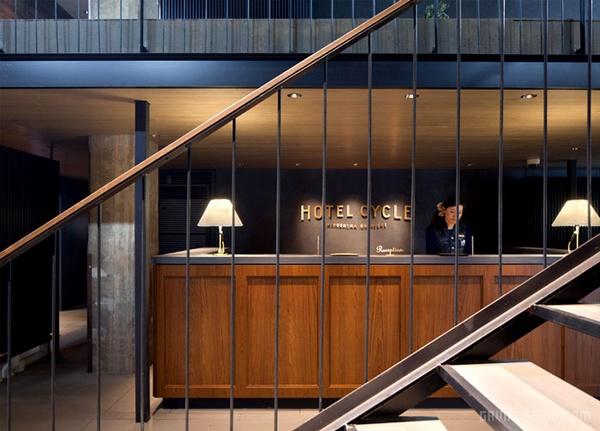 日本广岛HOTEL CYCLE自行车酒店设计 酒店设计
