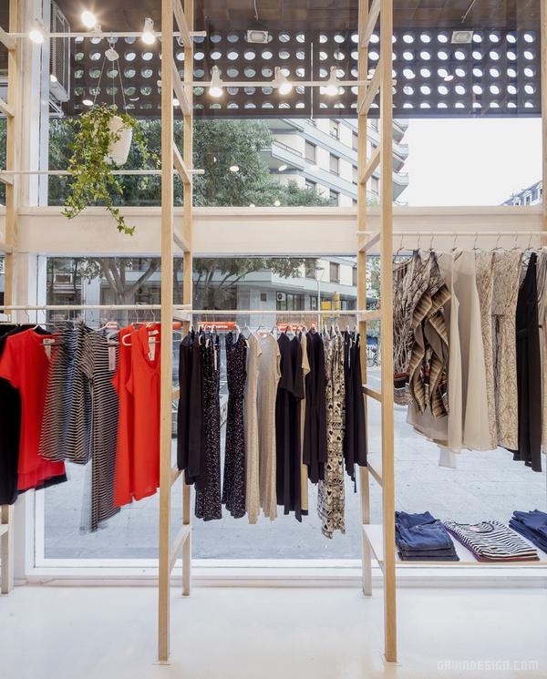 西班牙巴塞罗那 mit mat mama 服装店设计 西班牙 店面设计 商业空间设计 专卖店设计