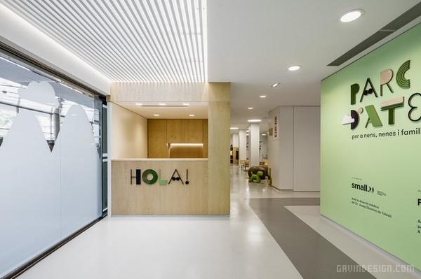巴塞罗那瓦尔德希伯伦大学儿童医院设计 西班牙 医院设计