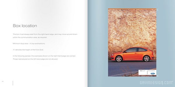 福特(Ford)汽车企业VI设计 标志设计 VI设计