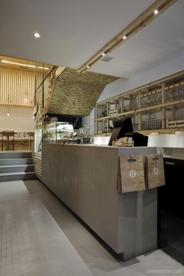 希腊雅典 IT Cafe 咖啡馆设计 餐厅设计 店面设计 希腊 商业空间设计 咖啡馆设计 包装设计