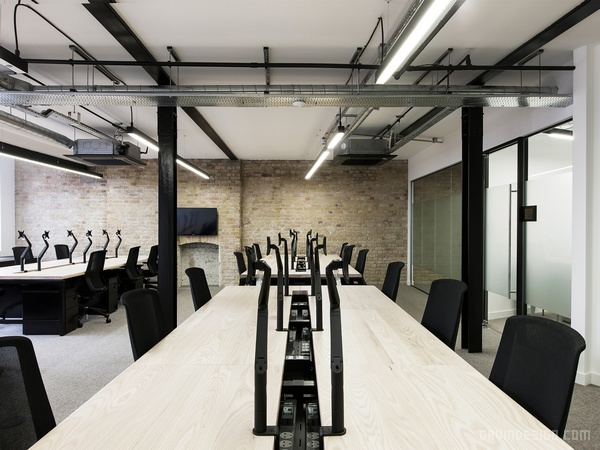 伦敦 Capco and Bold Rocket 办公室设计 英国 办公空间设计 办公室设计