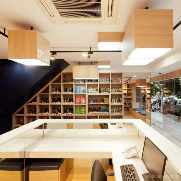 泰国曼谷 POR WOR 书店设计 泰国 书店设计