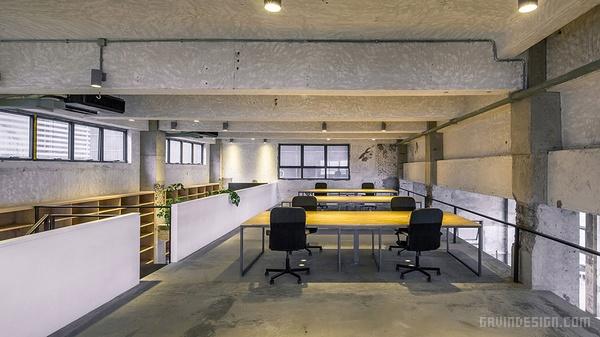 深圳 WAU 建筑事务所办公室设计 深圳 办公空间设计 办公室设计 中国