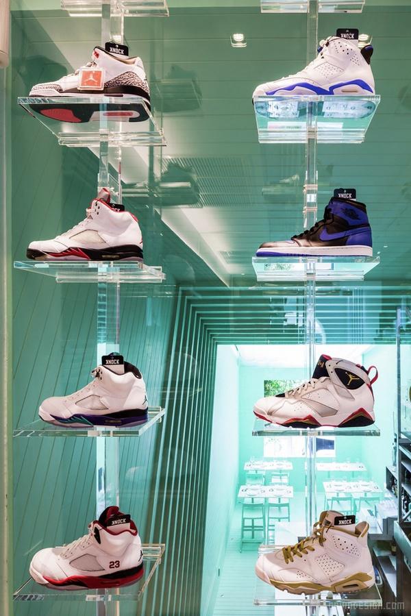 泰国 KNOCK Kitchen & Kicks 鞋店设计 鞋店设计 泰国 店面设计 商业空间设计 专卖店设计
