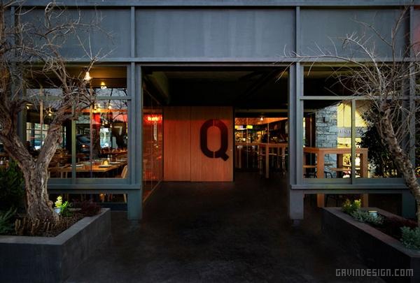 希腊东北部 BarQue 餐厅设计 餐厅设计 店面设计 希腊 商业空间设计