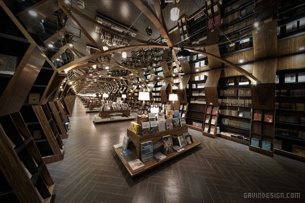 上海闵行钟书阁设计 书店设计