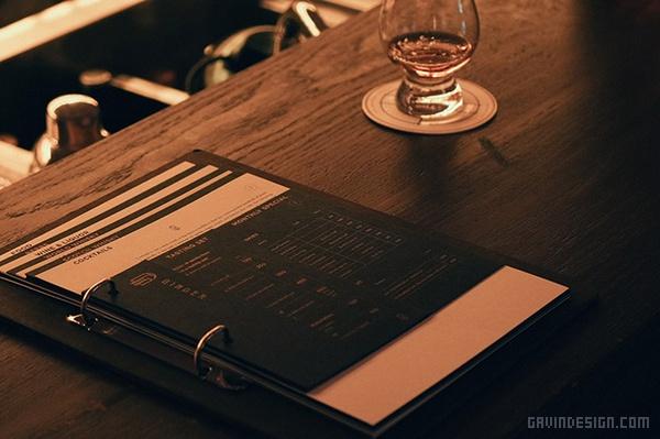 香港 Ginger 酒吧设计 香港 酒吧设计 菜单设计 店面设计 商业空间设计 VI设计 SI设计