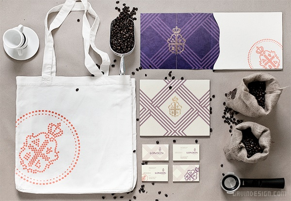 London 咖啡品牌形象设计 英国 网站设计 标志设计 包装设计 VI设计 SI设计