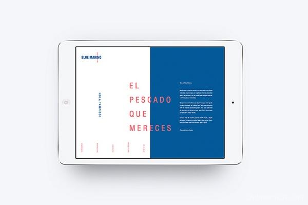 Marino 海鲜市场VI设计 网站设计 画册设计 海报设计 标志设计 图标设计 VI设计