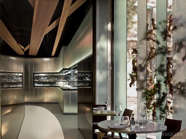 西班牙巴塞罗那 Ikibana 餐厅设计 餐厅设计 西班牙 店面设计 商业空间设计