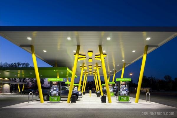 沃尔玛 Walmart to Go 便利店设计 店面设计 商业空间设计 便利店设计 SI设计