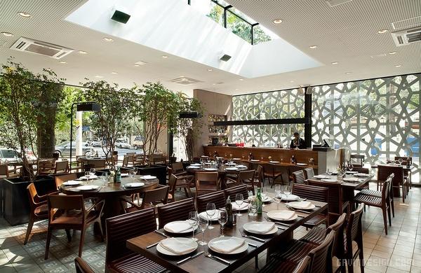 巴西圣保罗 Manish 餐厅设计 餐厅设计 店面设计 巴西 商业空间设计