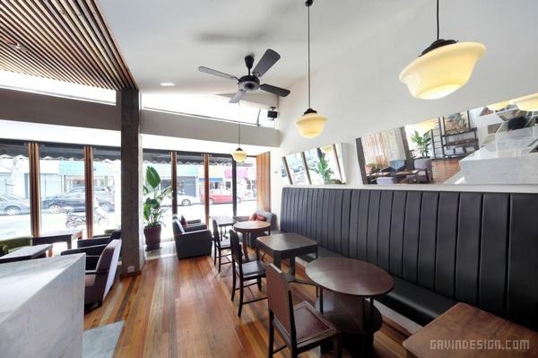 上海daga 咖啡厅设计