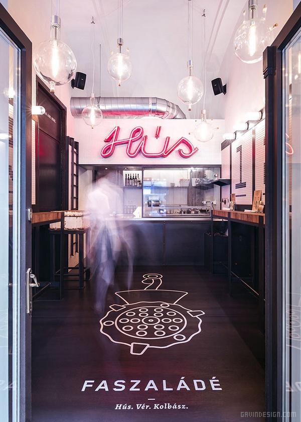 布达佩斯 Faszalade 酒吧VI设计 餐厅设计 酒吧设计 海报设计 标志设计 VI设计 SI设计