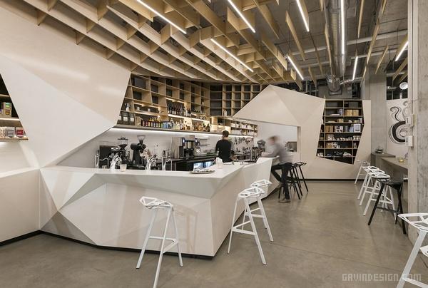 加拿大多伦多 ODIN 酒吧咖啡厅设计 店面设计 商业空间设计 咖啡厅设计 加拿大
