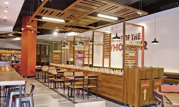 巴黎汉堡王全新旗舰店设计 麦当劳 汉堡店设计 旗舰店设计 快餐店设计 店铺设计