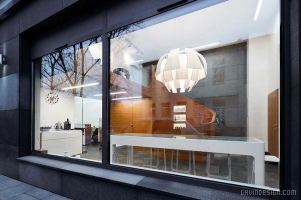 波兰 MOSS 美容美发沙龙设计 美发沙龙设计 理发店设计 商业空间设计