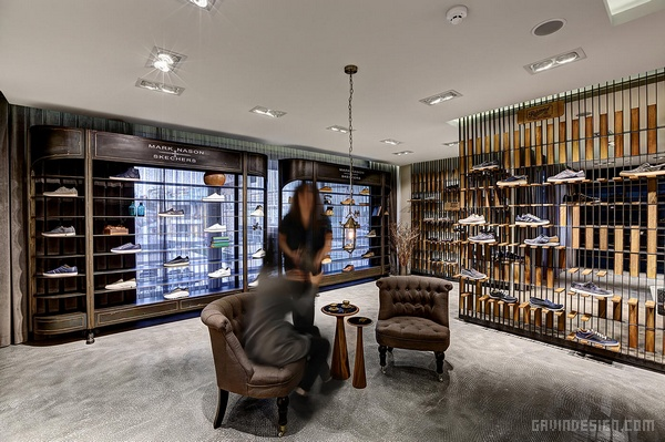 土耳其 Skechers 鞋品牌展厅设计 鞋店设计 店面设计 展厅设计 土耳其 商业空间设计 专卖店设计