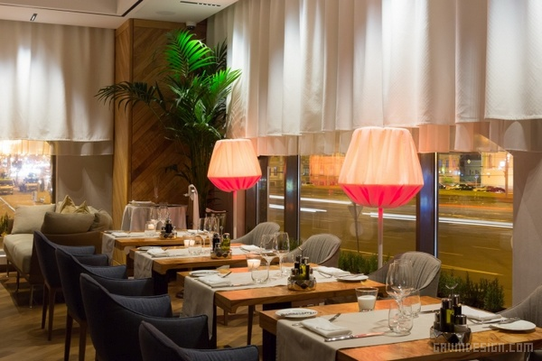 莫斯科 Selfie 餐厅设计 餐厅设计 店面设计 商业空间设计 俄罗斯